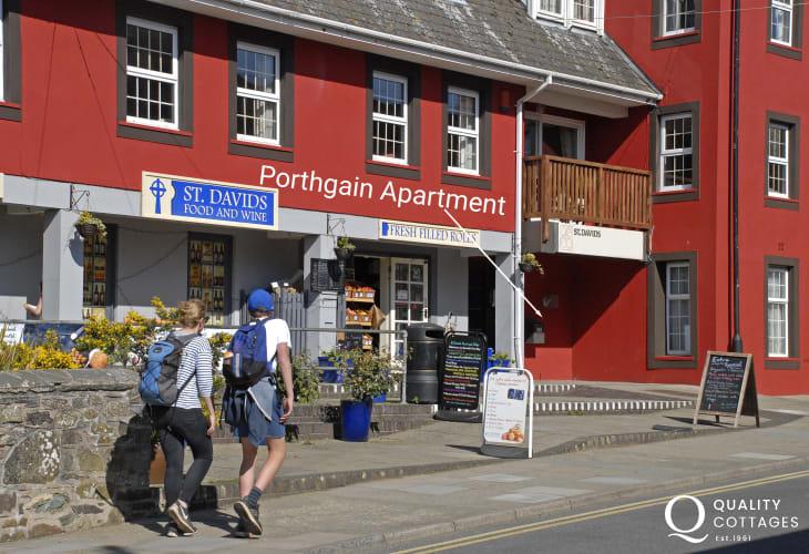 St Davids holiday apartment - exterior