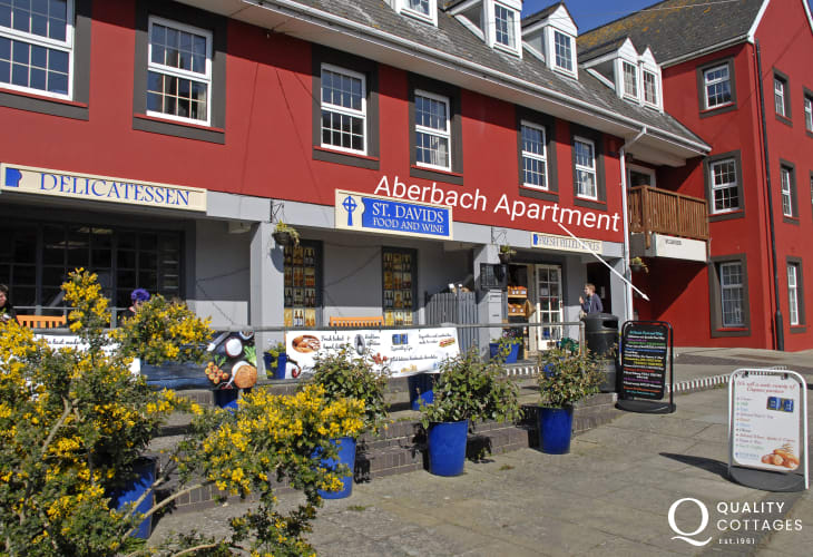 St Davids self catering apartment - ext
