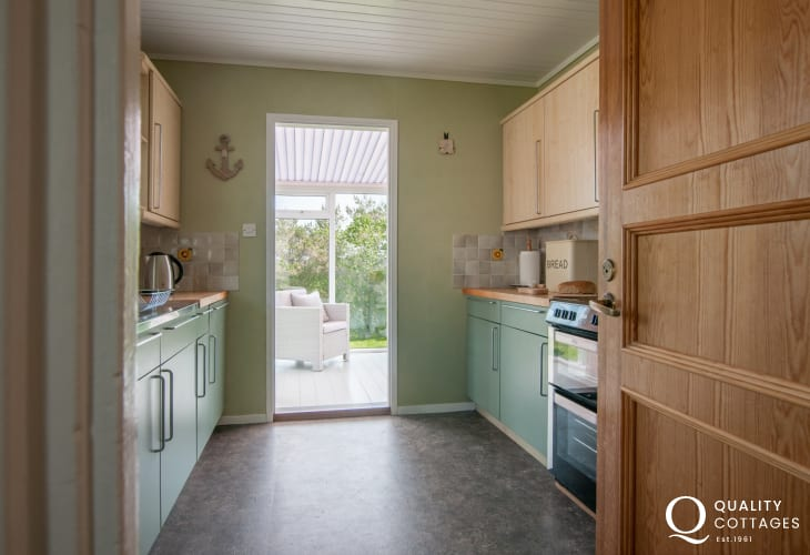 Holiday cottage Aberdaron -  kitchen