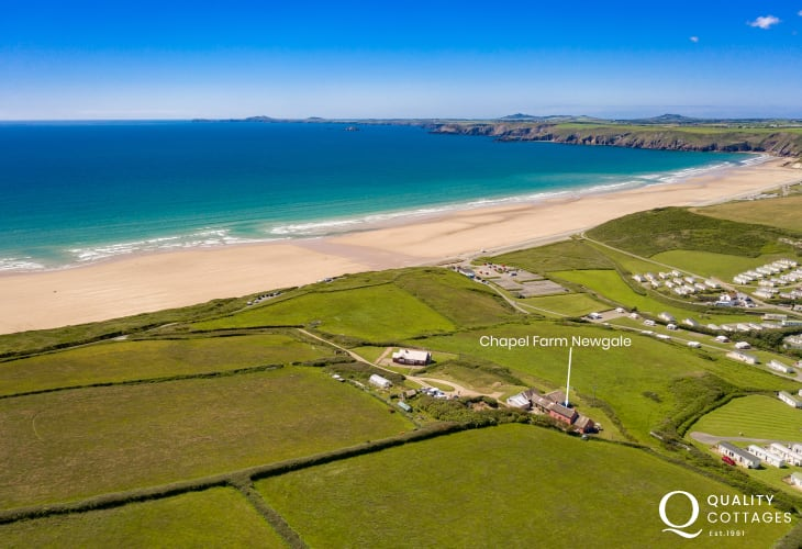 Welsh cottage holiday Newgale