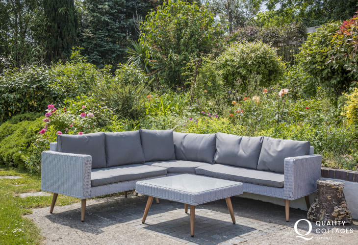 Grey ration patio furniture