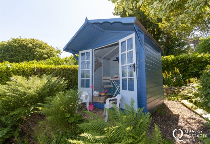 Newport, Pembrokeshire - holiday cottage garden shed