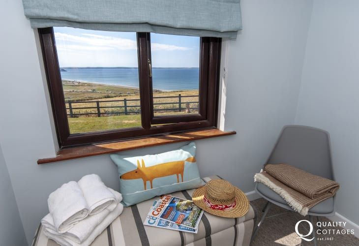 Holiday cottage over looking Newgale Beach