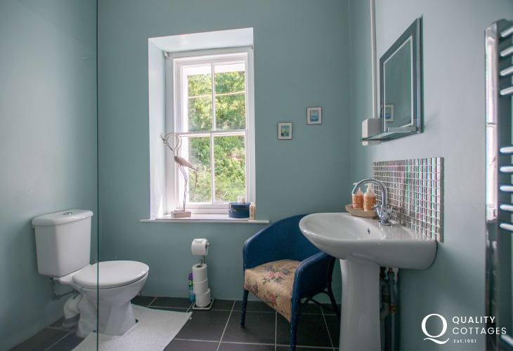 Pet friendly holiday cottage Snowdonia - shower room