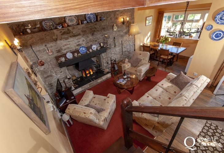 Holiday cottage Solva with open plan living/dining room