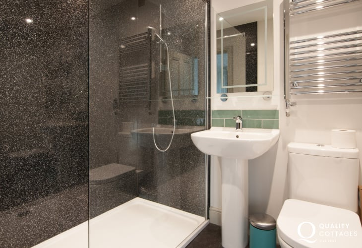 Llyn Peninsula holiday cottage - ensuite bathroom