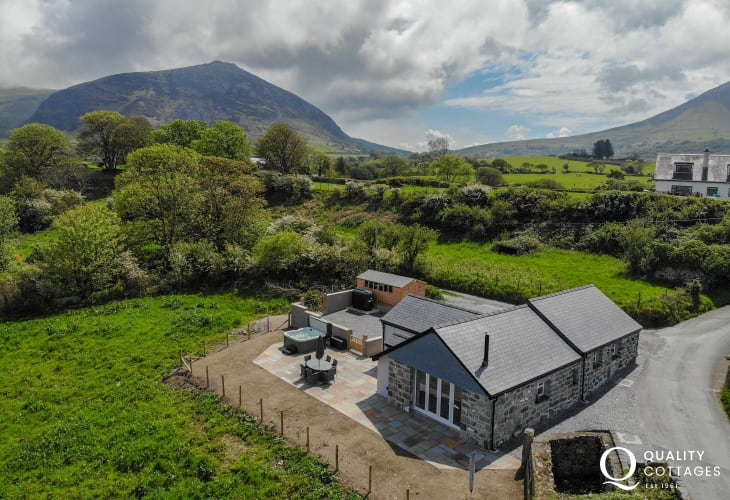 Trefor sits within close reach of the Snowdonia