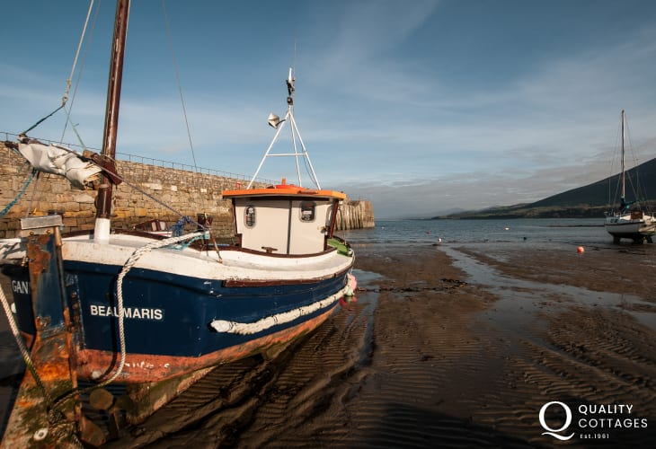 Trefor traditional fishing harbour