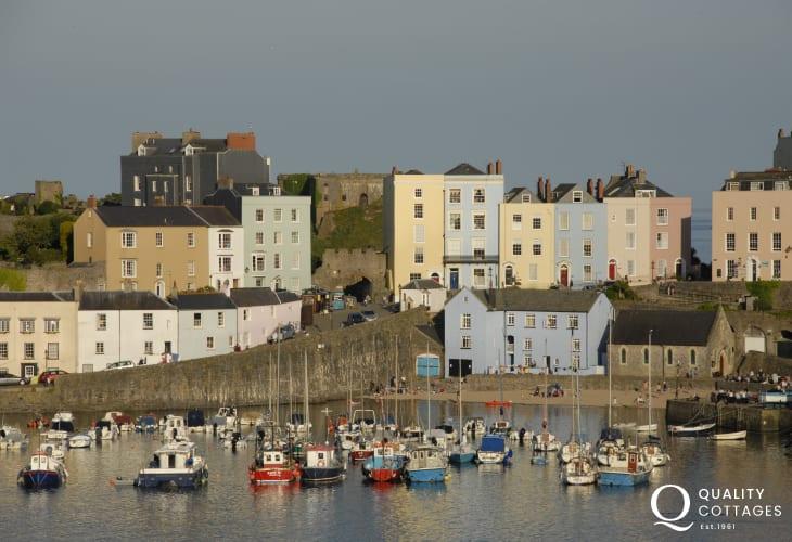 Tenbys picturesque harbour