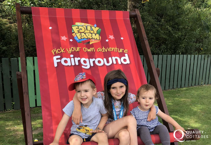Folly Farm near Tenby is such a fun day out for all the family!