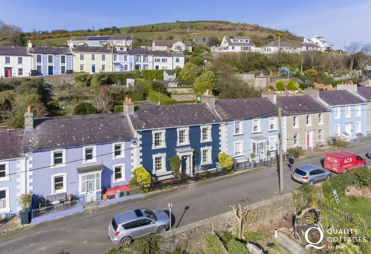 Escape to Quay View, an elegant Victorian townhouse with sweeping views of the sea and beyond