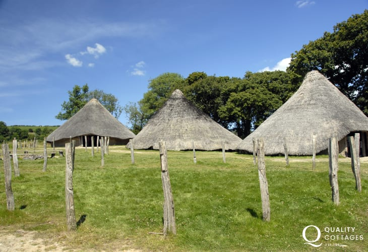 Castell Henllys enjoy a guided tour