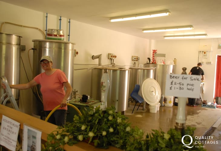 Take a trip to The Gwaun Valley Brewery - a small microbrewery offering free entry and a real-ale sample!