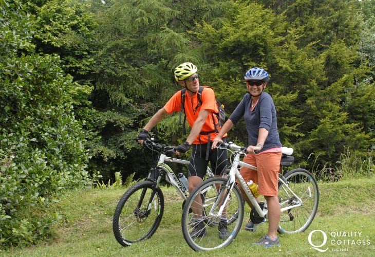 National Coast cycle route passes through Fishguard dozens of scenic circular routes crisscrossing the National Park