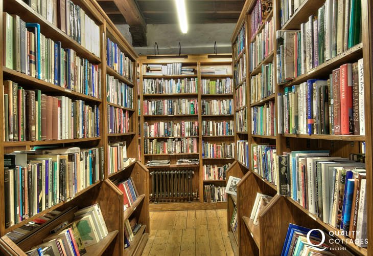 Amazing bookshops in Hay on Wye