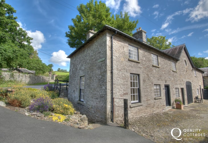 Luxury holiday cottage hay on Wye  - exterior