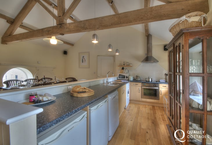 Holiday cottage Glasbury - kitchen