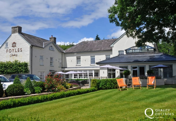 Foyles Restaurant, Glasbury, Nr Hay on Wye