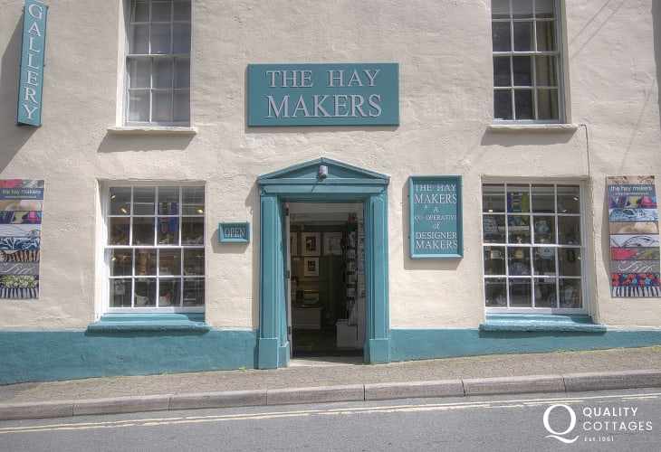 Hay Makers Gallery shop in Hay on Wye