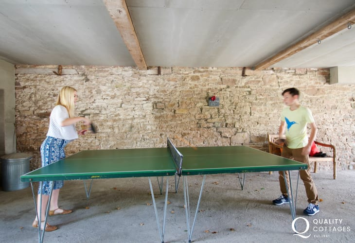 Hay on wye family holiday house  - table tennis