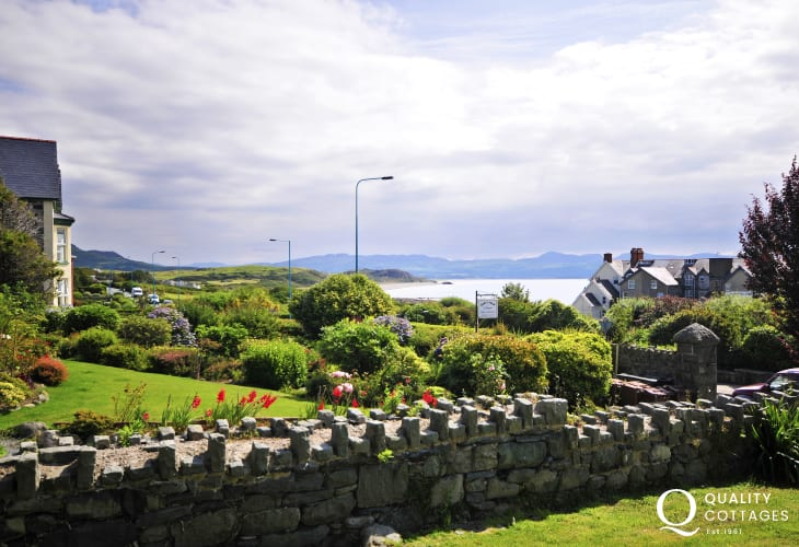 Llyn Peninsula holiday apartment - view