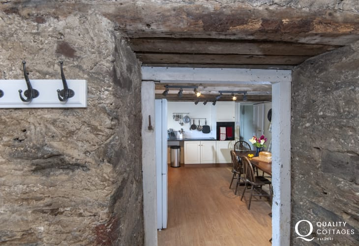 Porthgain historical holiday cottage
