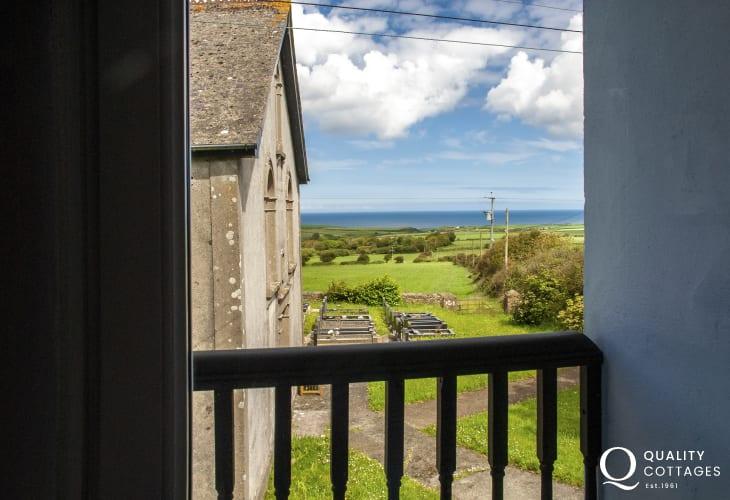 Pembrokeshire chapel cottage with sea views