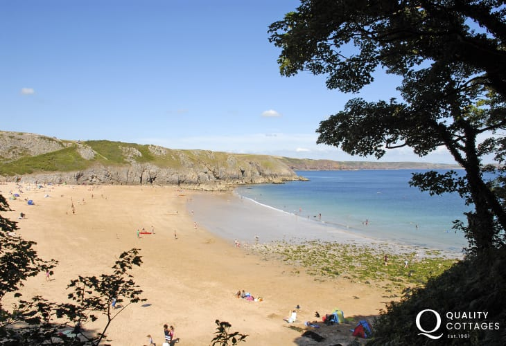 Barafundle Beach (N.T) - one of Britain's most stunning beaches
