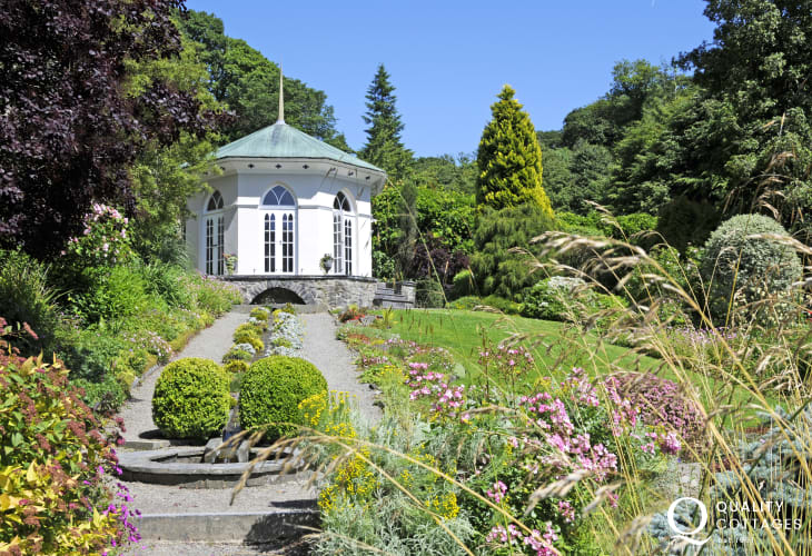 Colby gardens (N.T.) is in a tranquil secluded valley