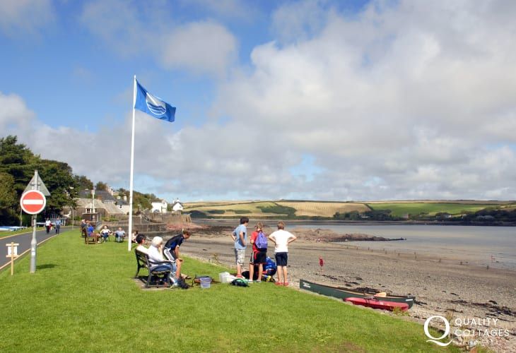 Dale is tucked away in a sheltered crescent shaped bay in the heart of the Pembrokeshire Coast National Park