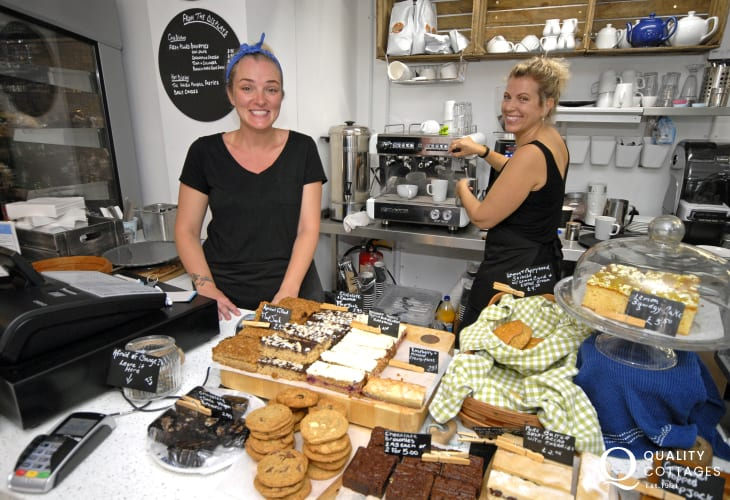 The Corner House Cafe offers delicious coffee, cakes, local ice creams and home cooked food