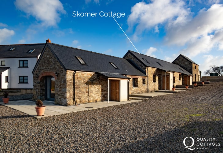 One of four holiday cottages in North Pembrokeshire - sleep two
