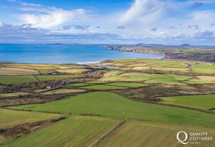 186 mile footpath Pembrokeshire