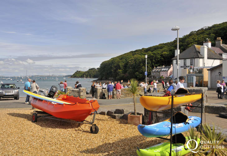 Further south is Dale - tucked away in a sheltered crescent bay at the tip of the Pembrokeshire Coast National Park