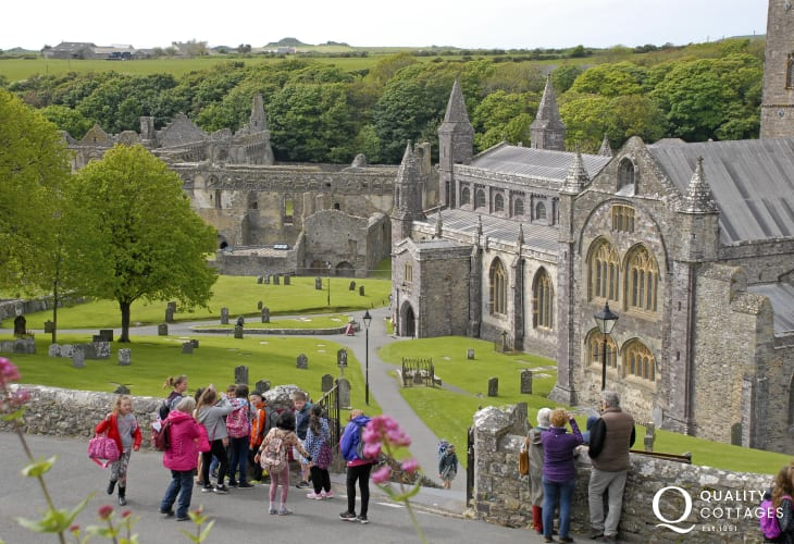 12th century St Davids Cathedral