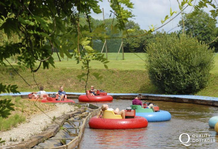 Oakwood, Blue Lagoon, Folly Farm, Manor Wildlife Park and Heatherton