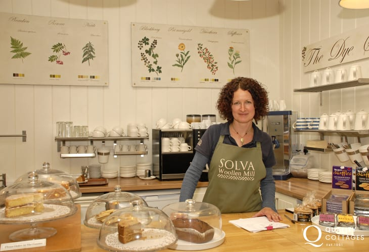 Solva Woollen Mill is the oldest working mill in Pembrokeshire with a lovely shop and tea room