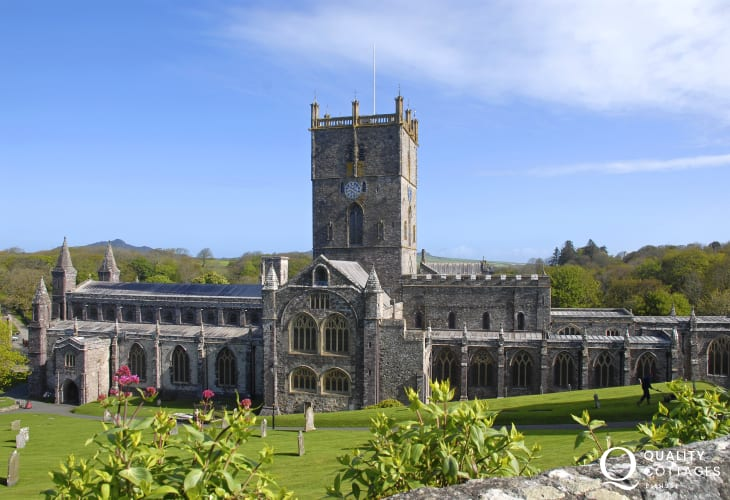 St Davids with its magnificent Cathedral