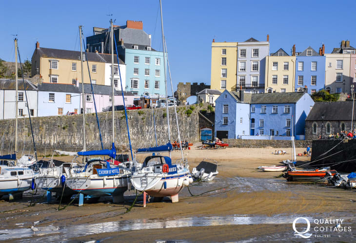 Tenby - a bustling seaside resort with picturesque harbour