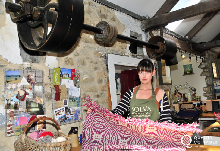Solva Woollen Mill - the oldest working mill in Pembrokeshire