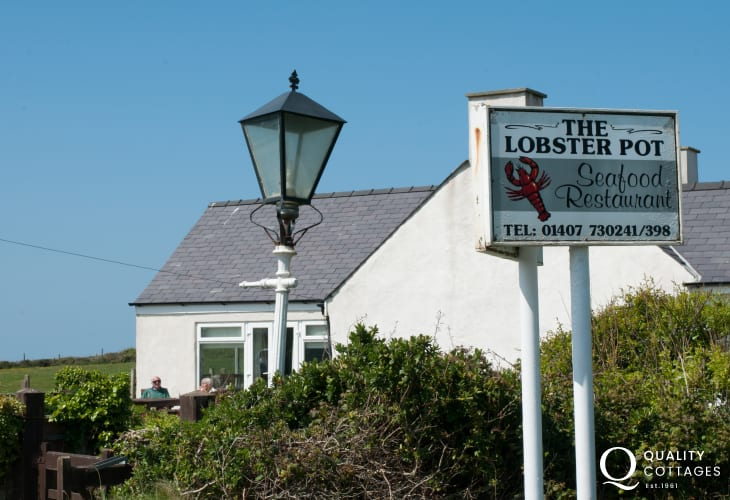The Lobster Pot seafood restaurant in Anglesey