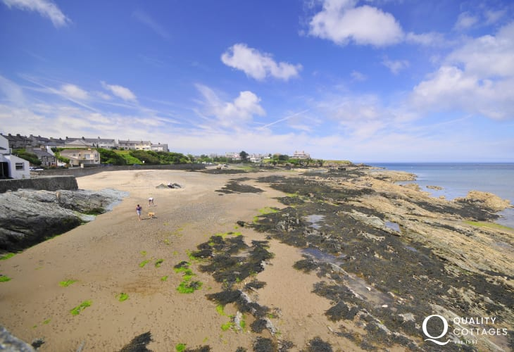 Cemaes Bay, an Area of Outstanding Natural Beauty