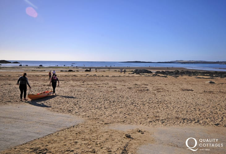 Rhosneigr Beach in Anglesey