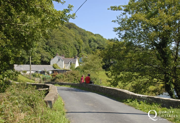 The Gwaun Valley is a timeless treasure and a haven for walkers and wildlife