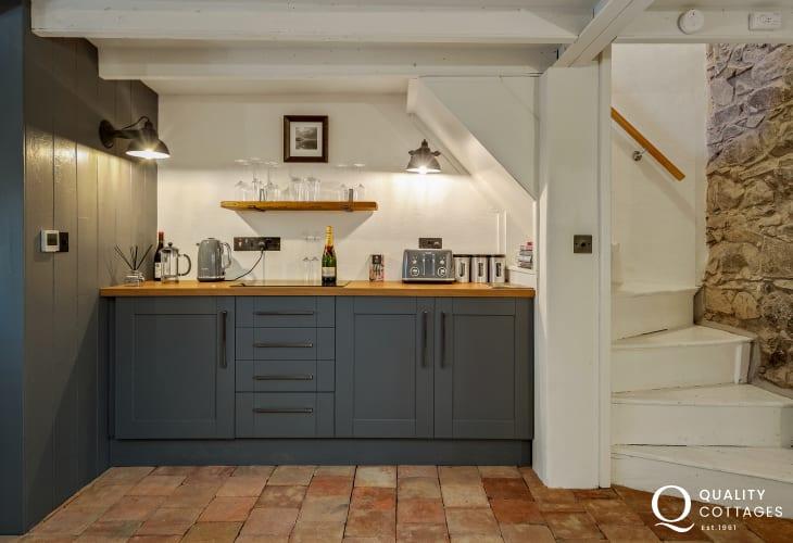Kitchen Area in Holiday Cottage Solva