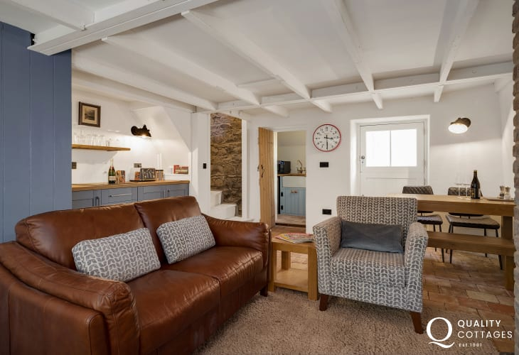 Lounge cottage in Solva
