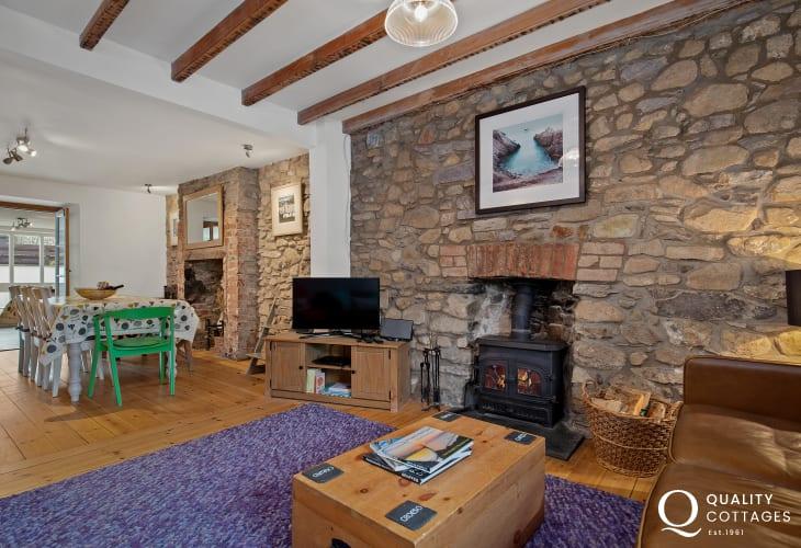 Log Burner Holiday home St David's