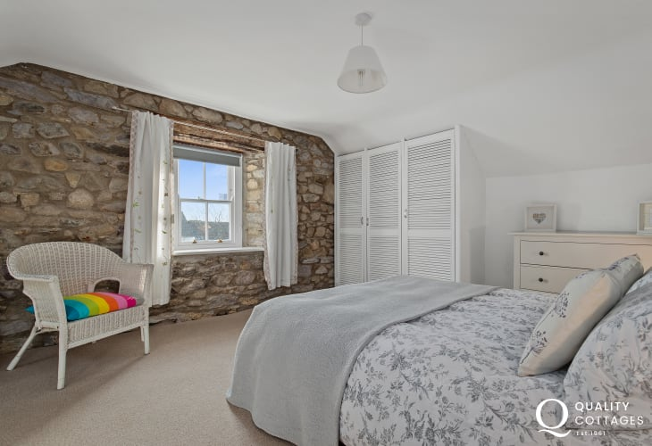 Double Bedroom in Holiday Cottage St David's