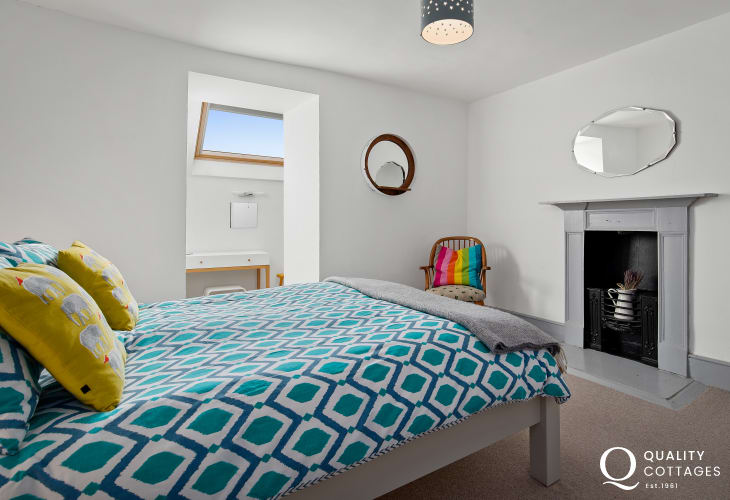 Double Bedroom in Holiday Cottage in St Davids