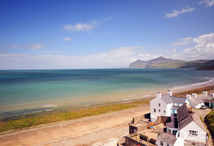 Morfa Nefyn with it's exceptional views, also close by to Plas Newydd